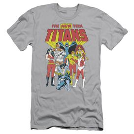 Dc New Teen Titans Short Sleeve Adult T-Shirt
