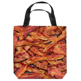 Bacon Collage Tote Bag