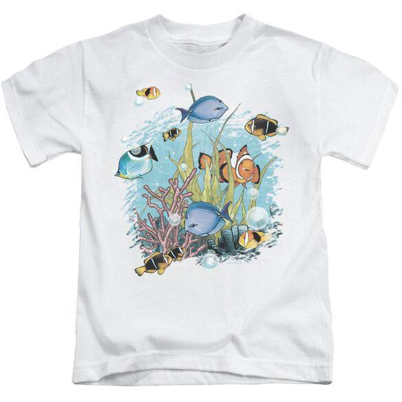Wildlife Tropical Fish Short Sleeve Juvenile T-Shirt