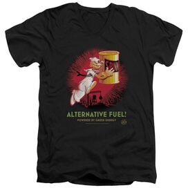 Popeye Alternative Fuel Short Sleeve Adult V Neck T-Shirt