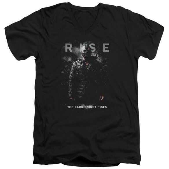 Dark Knight Rises Bane Rise Short Sleeve Adult V Neck T-Shirt