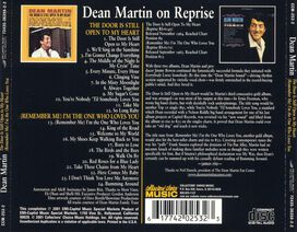 Dean Martin - Door Is Still Open to My Heart/(Remember Me) I'm the One Who Loves You
