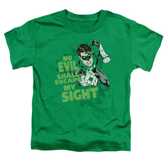Green Lantern No Evil Short Sleeve Toddler Tee Kelly Green Sm T-Shirt
