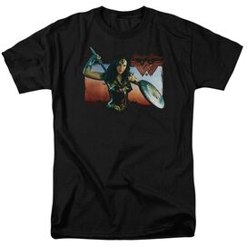 Wonder Woman Movie Warrior Woman Short Sleeve Adult T-Shirt