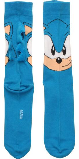 Sonic the Hedgehog Head Crew Socks