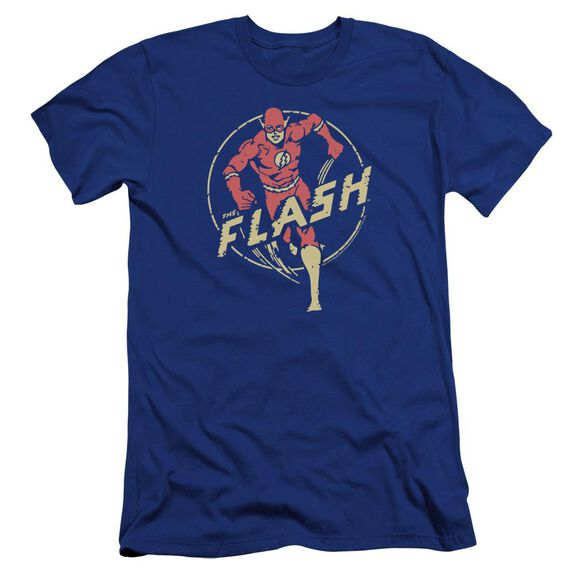 Dc Flash Flash Comics Premuim Canvas Adult Slim Fit Royal