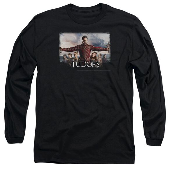 Tudors The Final Seduction Long Sleeve Adult T-Shirt