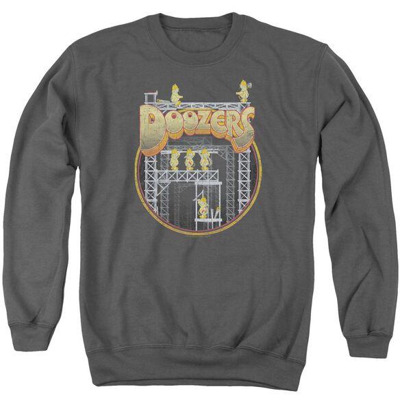 Fraggle Rock Doozers Construction Adult Crewneck Sweatshirt