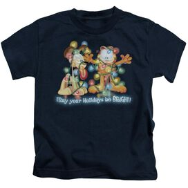 GARFIELD BRIGHT HOLIDAYS-S/S T-Shirt