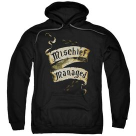Harry Potter Mischief Managed Adult Pull Over Hoodie