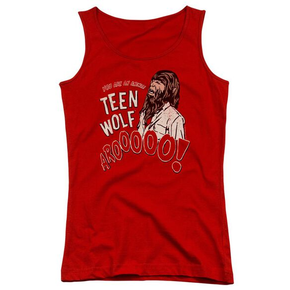 Teen Wolf Animal Juniors Tank Top