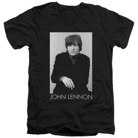 John Lennon Ex Beatle Short Sleeve Adult V Neck T-Shirt