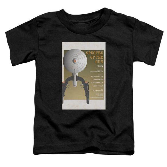 Star Trek Tos Episode 61 Short Sleeve Toddler Tee Black Sm T-Shirt