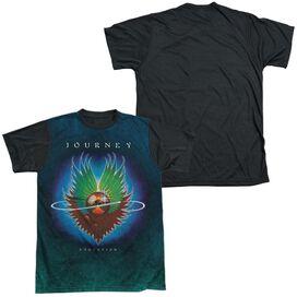 Journey Evolution Sub Short Sleeve Adult Front Black Back T-Shirt