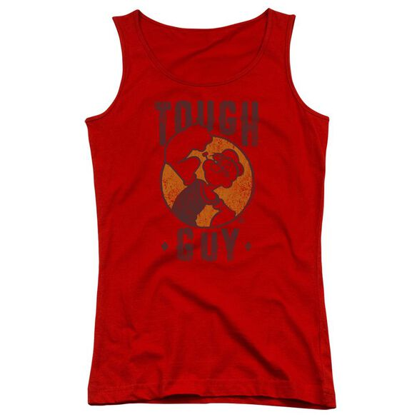 Popeye Tough Guy Juniors Tank Top