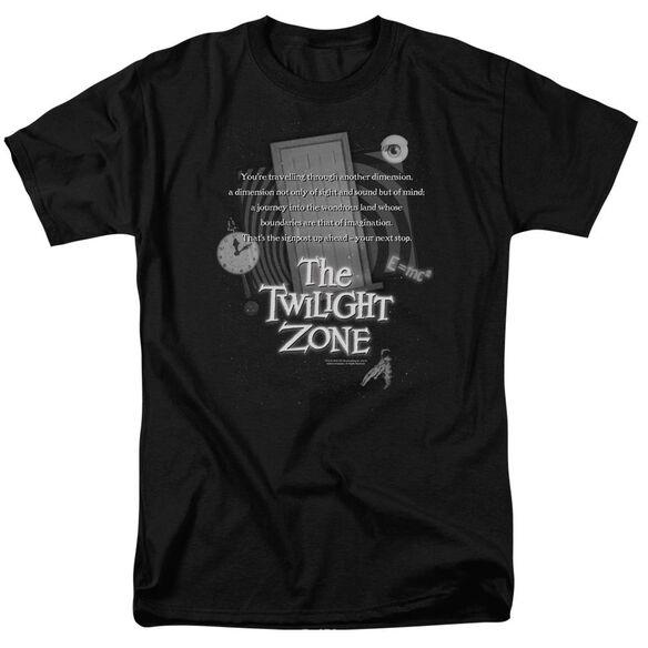 Twilight Zone Monologue Short Sleeve Adult T-Shirt