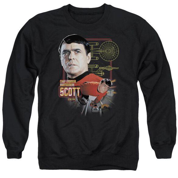 Star Trek Chief Engineer Scott Adult Crewneck Sweatshirt