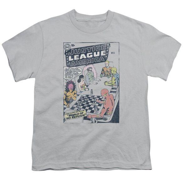 Jla World Of No Return Short Sleeve Youth T-Shirt