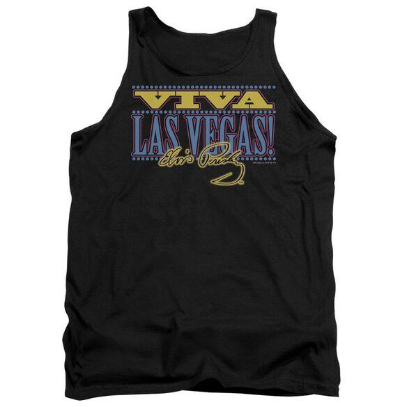 Elvis Viva Las Vegas Adult Tank