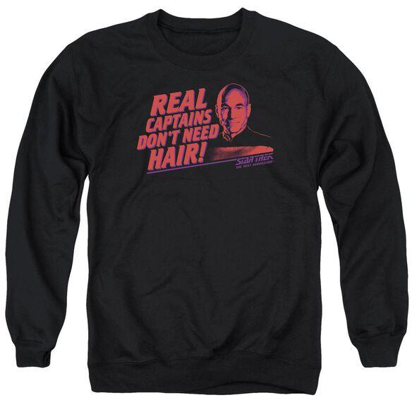 Star Trek Real Captain Adult Crewneck Sweatshirt