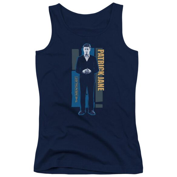 Mentalist Patrick Jane Juniors Tank Top