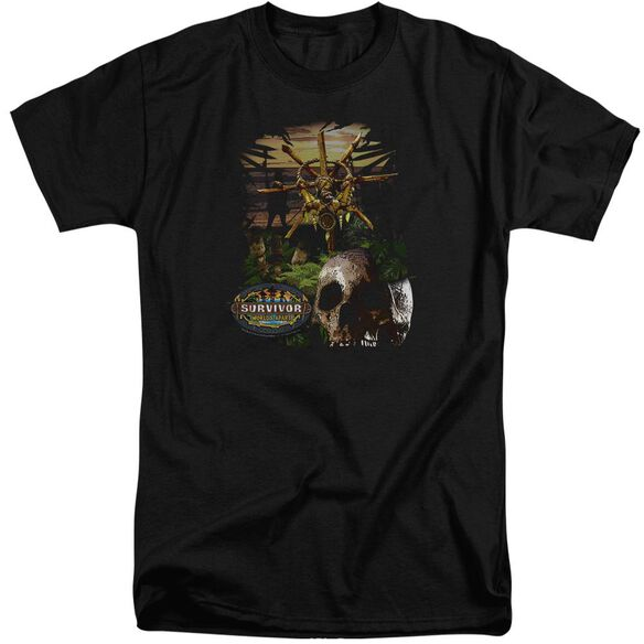 Survivor Jungle Short Sleeve Adult Tall T-Shirt