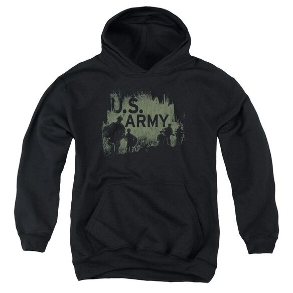 Army Soldiers Youth Pull Over Hoodie