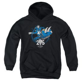 Power Rangers Blue 25 Youth Pull Over Hoodie