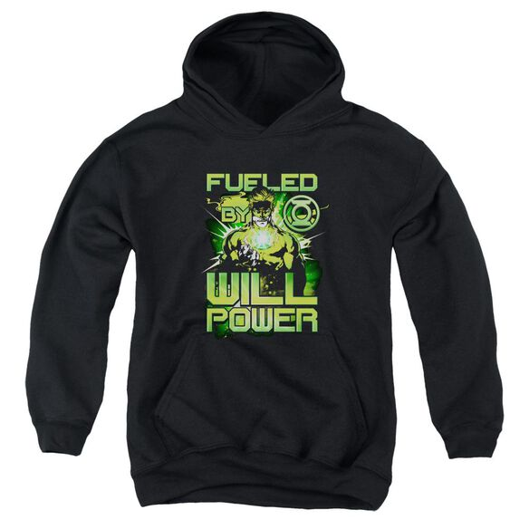 Green Lantern Fueled Youth Pull Over Hoodie