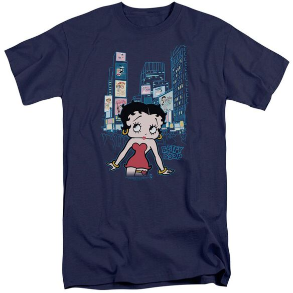 Betty Boop Square Short Sleeve Adult Tall T-Shirt
