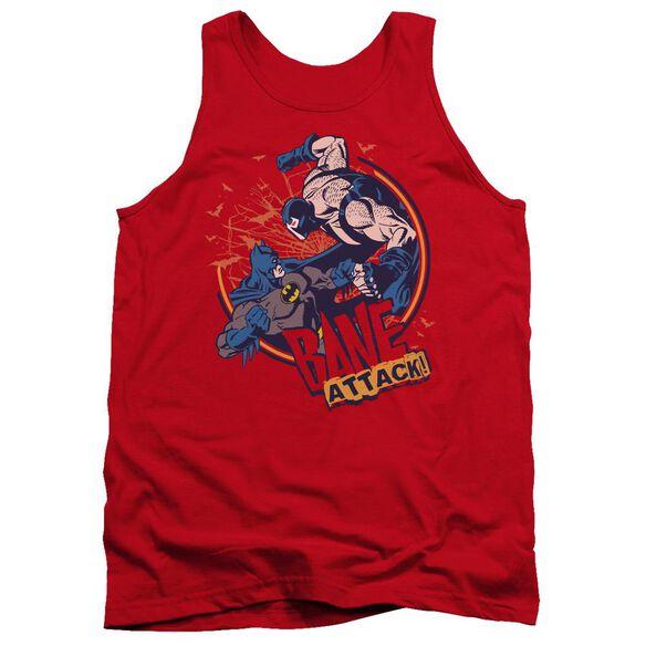 Batman Bane Attack! - Adult Tank - Red