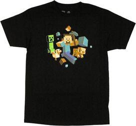 Minecraft Run Away T-Shirt
