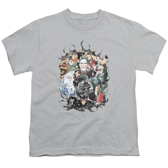 Batman Cape Of Villians Short Sleeve Youth T-Shirt