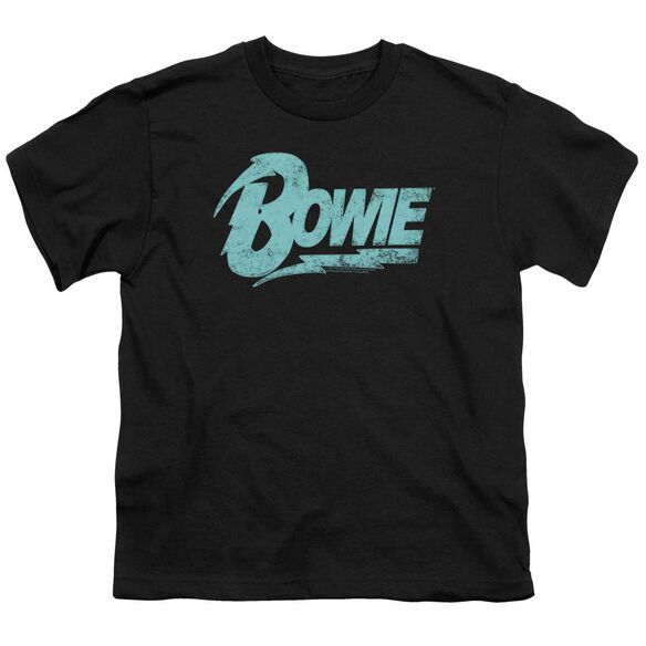 David Bowie Logo Short Sleeve Youth T-Shirt