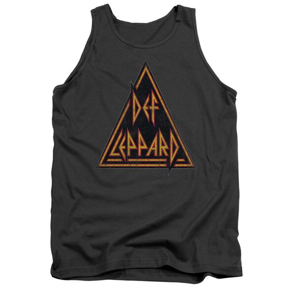 Def Leppard Distressed Logo Adult Tank