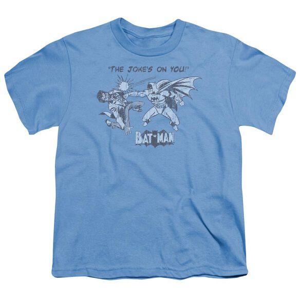 Batman The Joke's On You Short Sleeve Youth Carolina T-Shirt