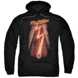The Flash Flash Ave Adult Pull Over Hoodie