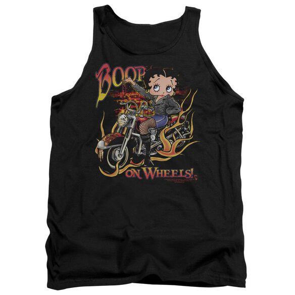 Betty Boop On Wheels Adult Tank
