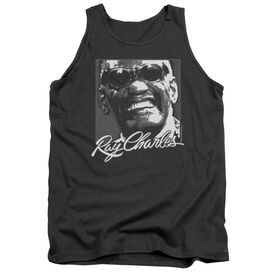 Ray Charles Signature Glasses Adult Tank