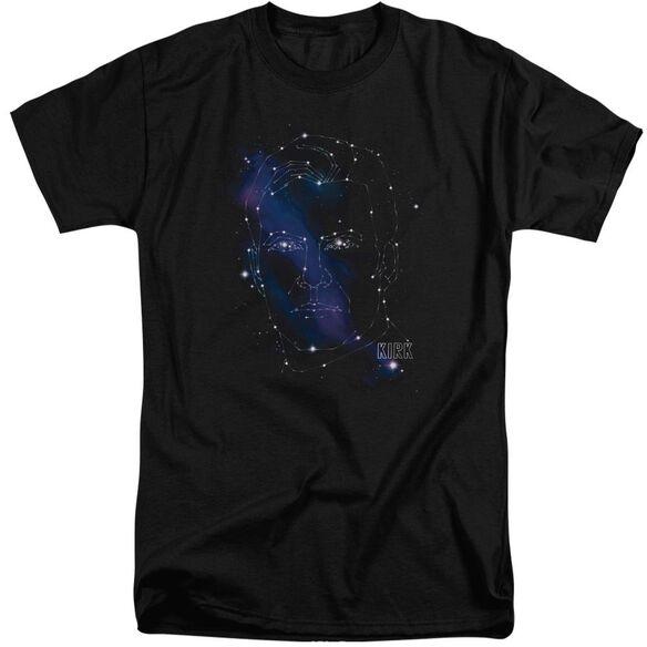 Star Trek Kirk Constellations Short Sleeve Adult Tall T-Shirt