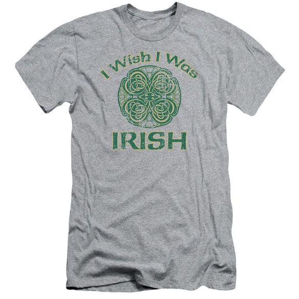 Irish Wish Short Sleeve Adult Athletic T-Shirt
