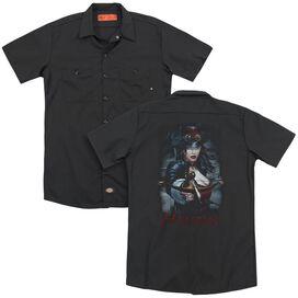 Zenescope Helsing(Back Print) Adult Work Shirt