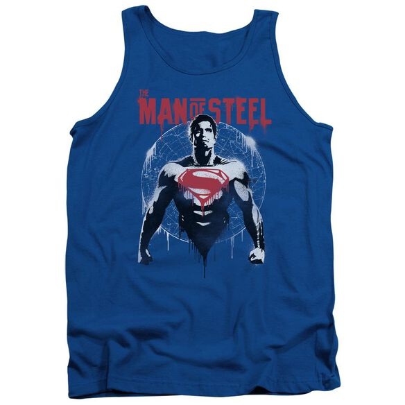 Batman V Superman Super Spray Adult Tank Royal