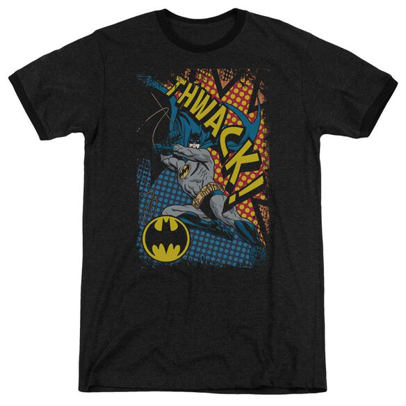Batman Thwack Adult Heather Ringer