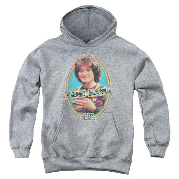 Mork & Mindy Nanu Nanu Youth Pull Over Hoodie