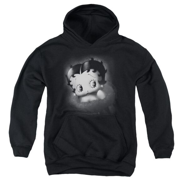 Betty Boop Vintage Star Youth Pull Over Hoodie