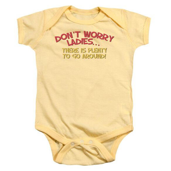 Dont Worry Infant Snapsuit Banana Md