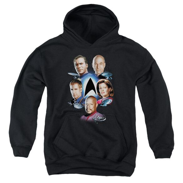 Star Trek Starfleet's Finest Youth Pull Over Hoodie