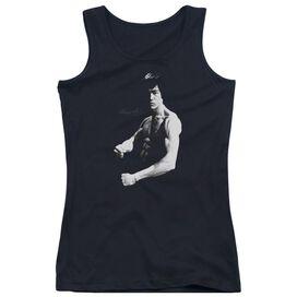 Bruce Lee Stance Juniors Tank Top