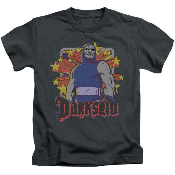 Dc Darkseid Stars Short Sleeve Juvenile T-Shirt